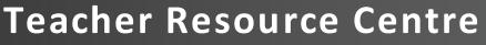 teacher resource center logo